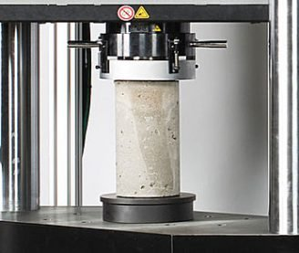 Разрушающий контроль прочности бетона