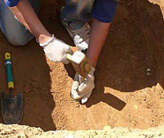 Испытание плотности грунта