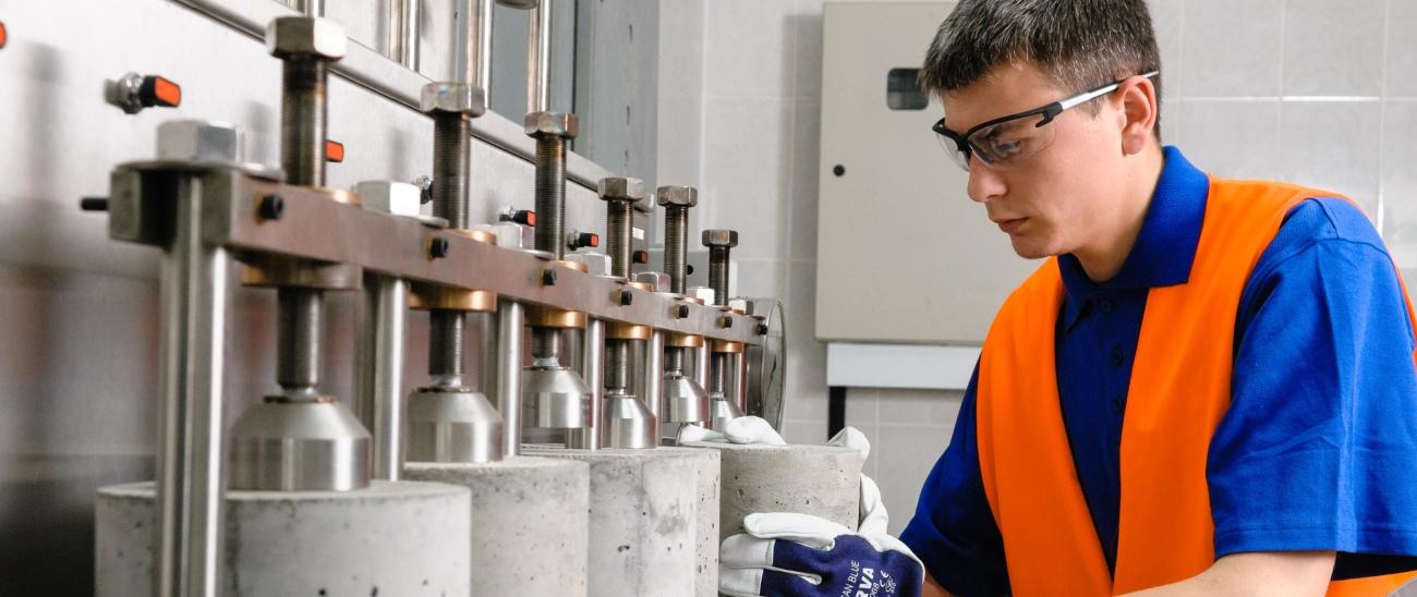 Лаборатории прочности бетона москва купить керамзитобетон смесь